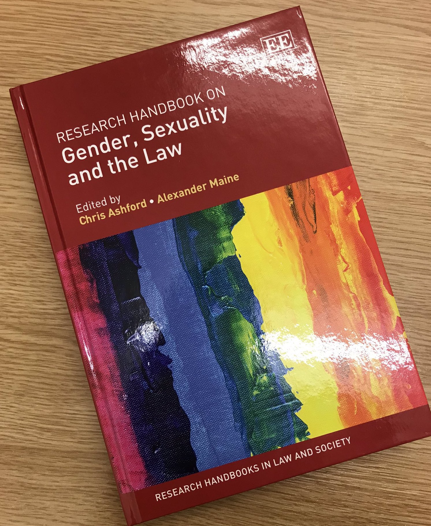 Book: Gender, sexuality and the Law